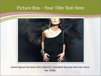 Young Model With Blond Hair PowerPoint Templates - Slide 15