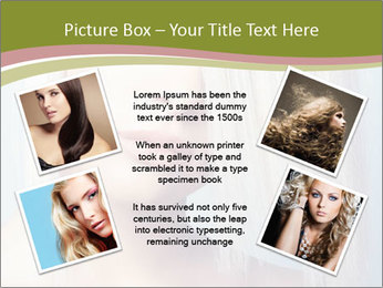 Young Model With Blond Hair PowerPoint Templates - Slide 24