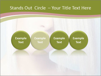 Young Model With Blond Hair PowerPoint Templates - Slide 76
