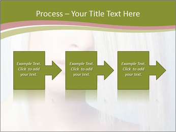 Young Model With Blond Hair PowerPoint Templates - Slide 88
