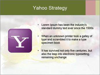 Flowers On Wooden Floor PowerPoint Template - Slide 11