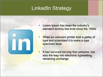 Flowers On Wooden Floor PowerPoint Template - Slide 12