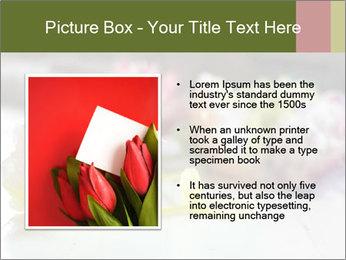 Flowers On Wooden Floor PowerPoint Template - Slide 13