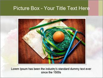 Flowers On Wooden Floor PowerPoint Template - Slide 15