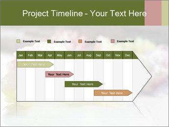 Flowers On Wooden Floor PowerPoint Template - Slide 25