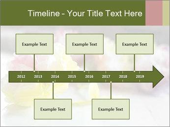 Flowers On Wooden Floor PowerPoint Template - Slide 28
