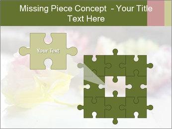 Flowers On Wooden Floor PowerPoint Template - Slide 45