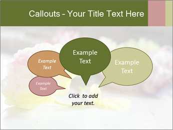 Flowers On Wooden Floor PowerPoint Template - Slide 73