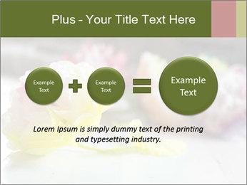 Flowers On Wooden Floor PowerPoint Template - Slide 75