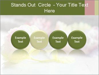 Flowers On Wooden Floor PowerPoint Template - Slide 76