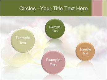 Flowers On Wooden Floor PowerPoint Template - Slide 77
