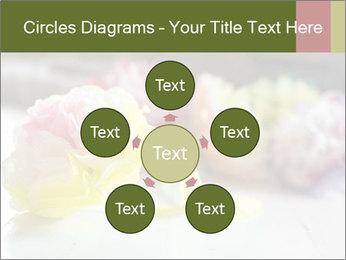 Flowers On Wooden Floor PowerPoint Template - Slide 78