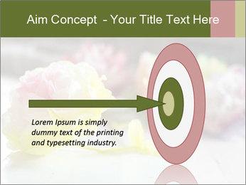 Flowers On Wooden Floor PowerPoint Template - Slide 83