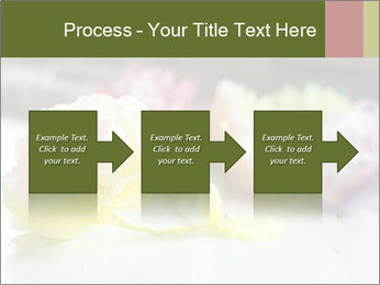 Flowers On Wooden Floor PowerPoint Template - Slide 88