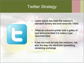 Flowers On Wooden Floor PowerPoint Template - Slide 9