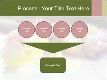 Flowers On Wooden Floor PowerPoint Template - Slide 93