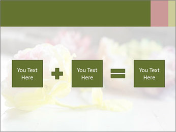 Flowers On Wooden Floor PowerPoint Template - Slide 95