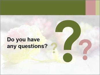 Flowers On Wooden Floor PowerPoint Template - Slide 96