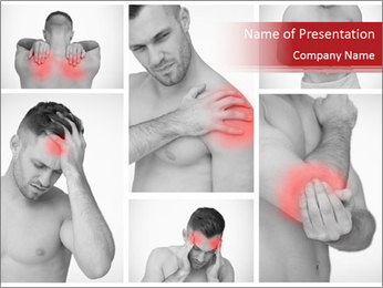 Body Pain Modèles des présentations  PowerPoint