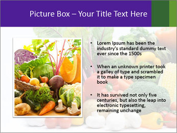 Colorful Vegetables PowerPoint Templates - Slide 13