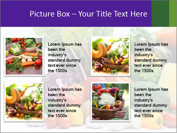 Colorful Vegetables PowerPoint Templates - Slide 14