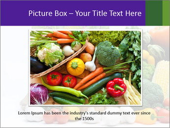 Colorful Vegetables PowerPoint Templates - Slide 15