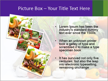 Colorful Vegetables PowerPoint Templates - Slide 17