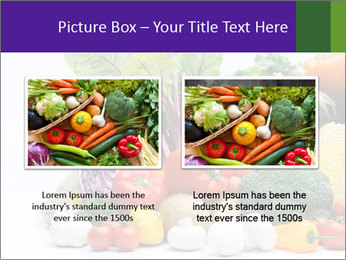 Colorful Vegetables PowerPoint Templates - Slide 18