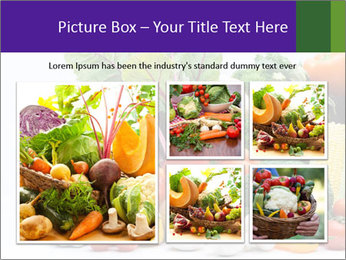 Colorful Vegetables PowerPoint Templates - Slide 19
