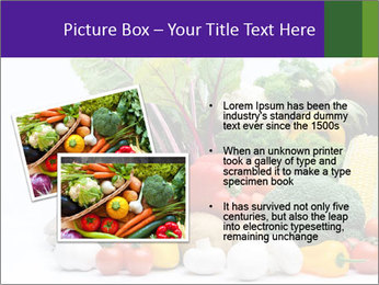 Colorful Vegetables PowerPoint Templates - Slide 20