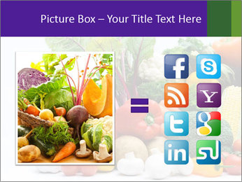 Colorful Vegetables PowerPoint Templates - Slide 21