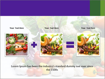 Colorful Vegetables PowerPoint Templates - Slide 22
