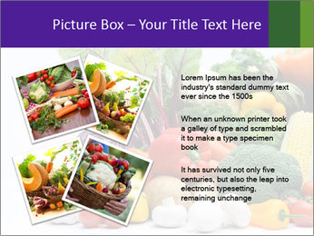 Colorful Vegetables PowerPoint Templates - Slide 23