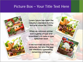 Colorful Vegetables PowerPoint Templates - Slide 24