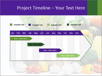 Colorful Vegetables PowerPoint Templates - Slide 25