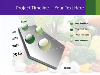Colorful Vegetables PowerPoint Templates - Slide 26