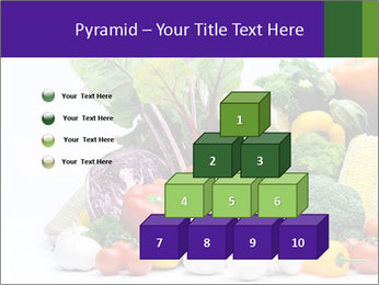 Colorful Vegetables PowerPoint Templates - Slide 31