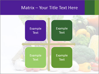 Colorful Vegetables PowerPoint Templates - Slide 37