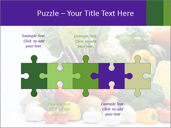 Colorful Vegetables PowerPoint Templates - Slide 41