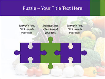 Colorful Vegetables PowerPoint Templates - Slide 42