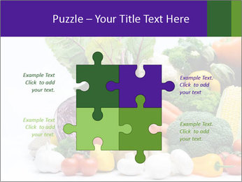 Colorful Vegetables PowerPoint Templates - Slide 43