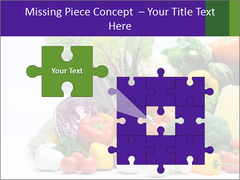 Colorful Vegetables PowerPoint Templates - Slide 45