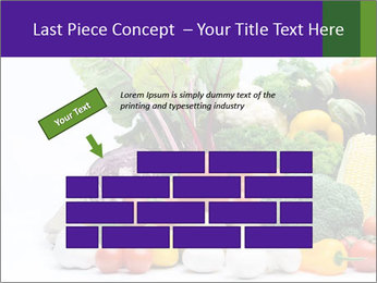 Colorful Vegetables PowerPoint Templates - Slide 46