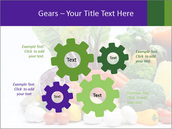 Colorful Vegetables PowerPoint Templates - Slide 47
