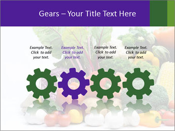 Colorful Vegetables PowerPoint Templates - Slide 48