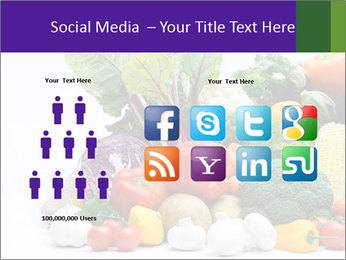 Colorful Vegetables PowerPoint Templates - Slide 5