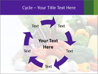 Colorful Vegetables PowerPoint Templates - Slide 62