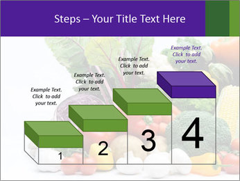 Colorful Vegetables PowerPoint Templates - Slide 64