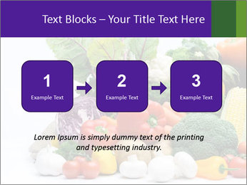 Colorful Vegetables PowerPoint Templates - Slide 71