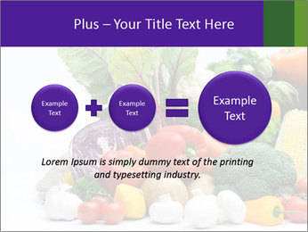 Colorful Vegetables PowerPoint Templates - Slide 75